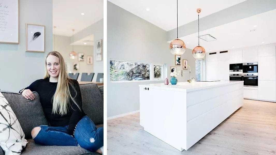 Hjemme hos: Yvonne og Daniel Halvorsen -