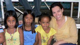 Kids on Talim Island