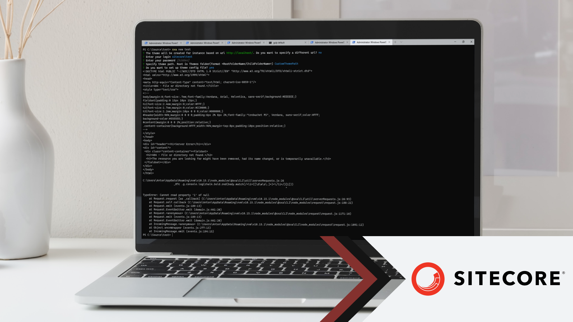 Cover Image for Sitecore SXA CLI: Theme Setup Error