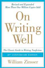 Related book On Writing Well: The Classic Guide to Writing Nonfiction Cover