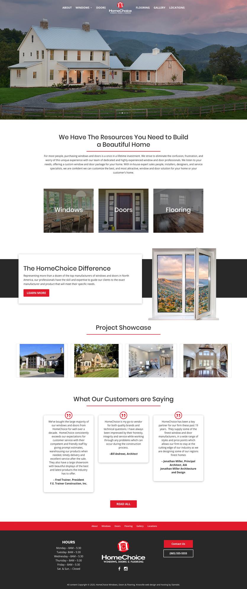 HomeChoice Windows, Doors & Flooring