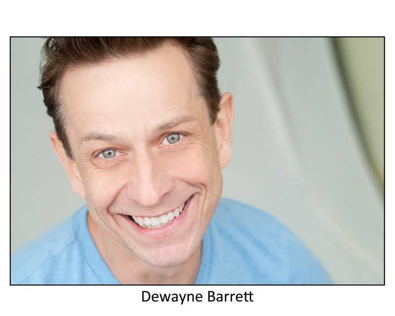 portrait of Dewayne Barrett