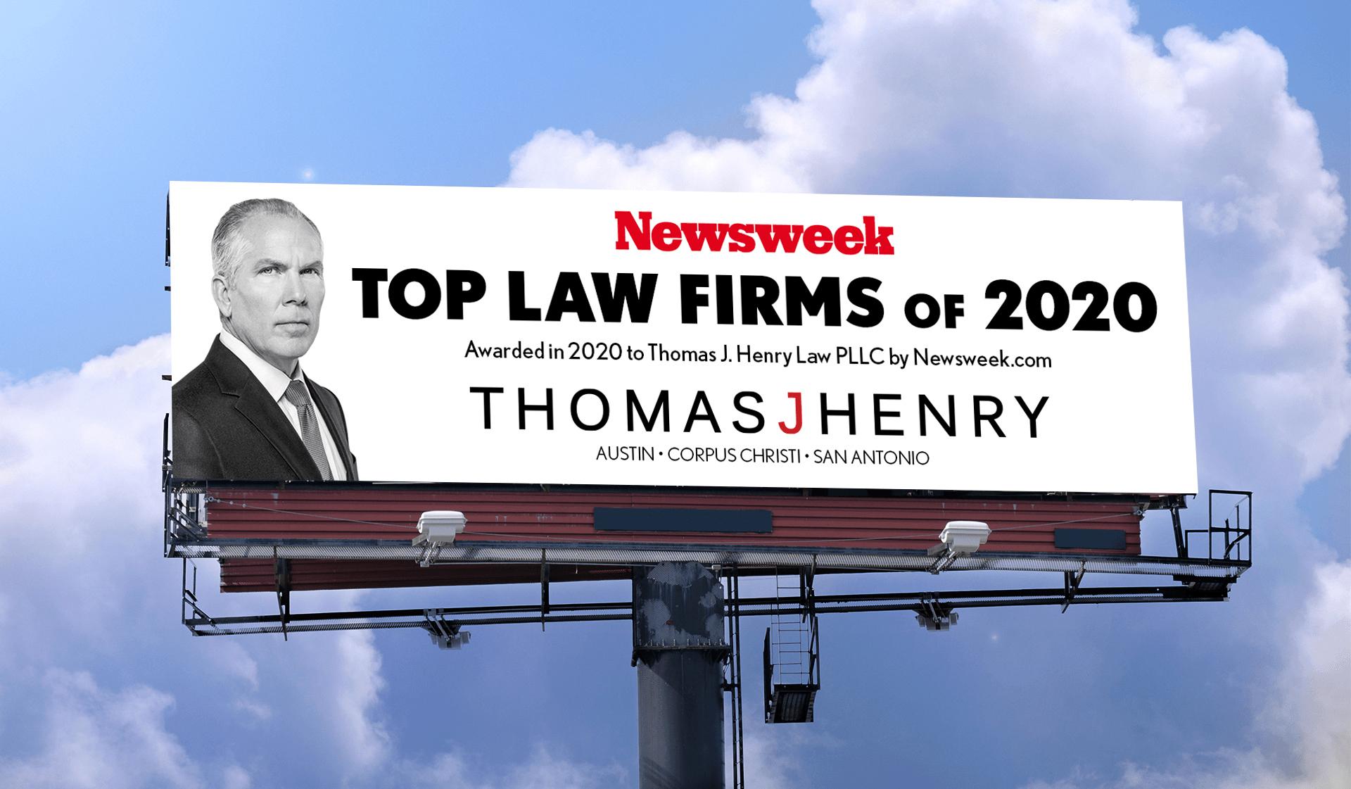 TJH Newsweek Billboard