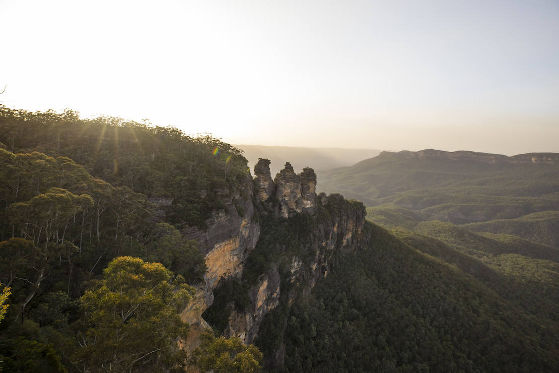 The Three Sisters in the Blue Mountains (credit: Destination NSW)