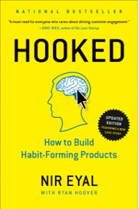 Book cover for Hooked by Nir Eyal