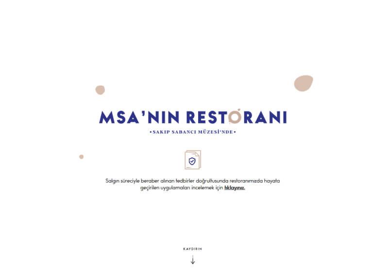 MSA'nin Restorani