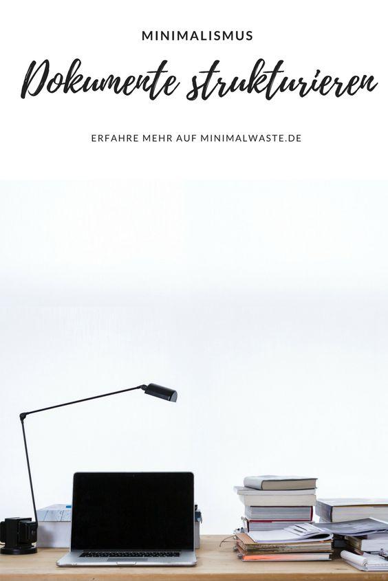 Pinterest Cover zu 'Unsichtbare Unordnung: Dokumente Strukturieren'