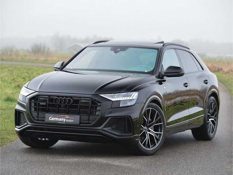 Audi Q8 50TDI 286pk Quattro S-Line Black Optic Lucht RS-zetels B&O High-end Alcant.Hemel TV Head-Up Standk ALLE OPTIES! afbeelding 12