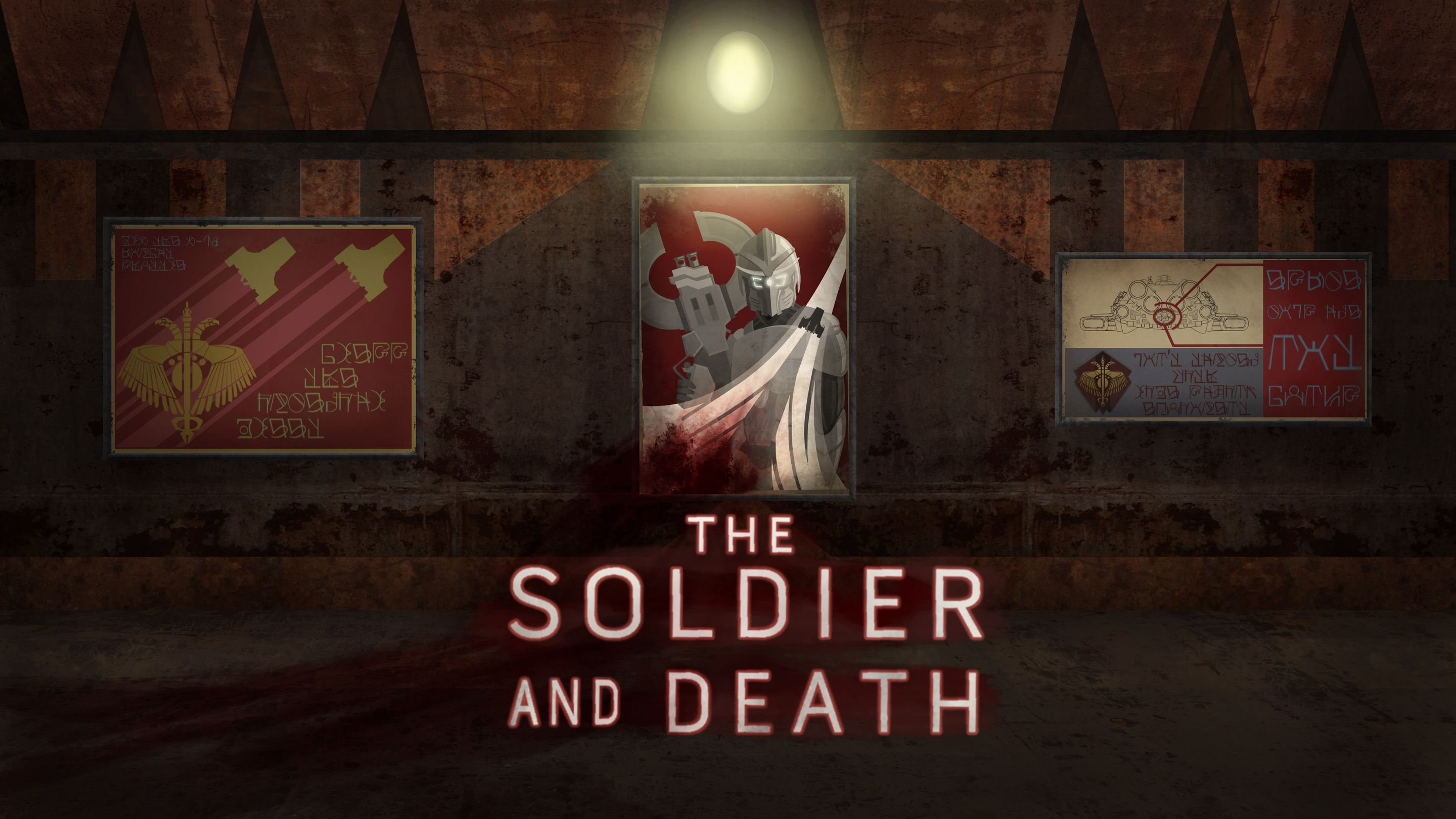 Soldier and Death: Introductory Animatic