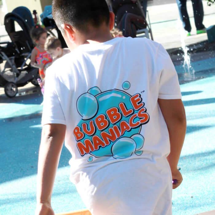 BubbleManiacs shirt.