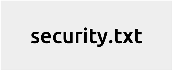 security.txt is a proposed standard allowing websites to define security policies