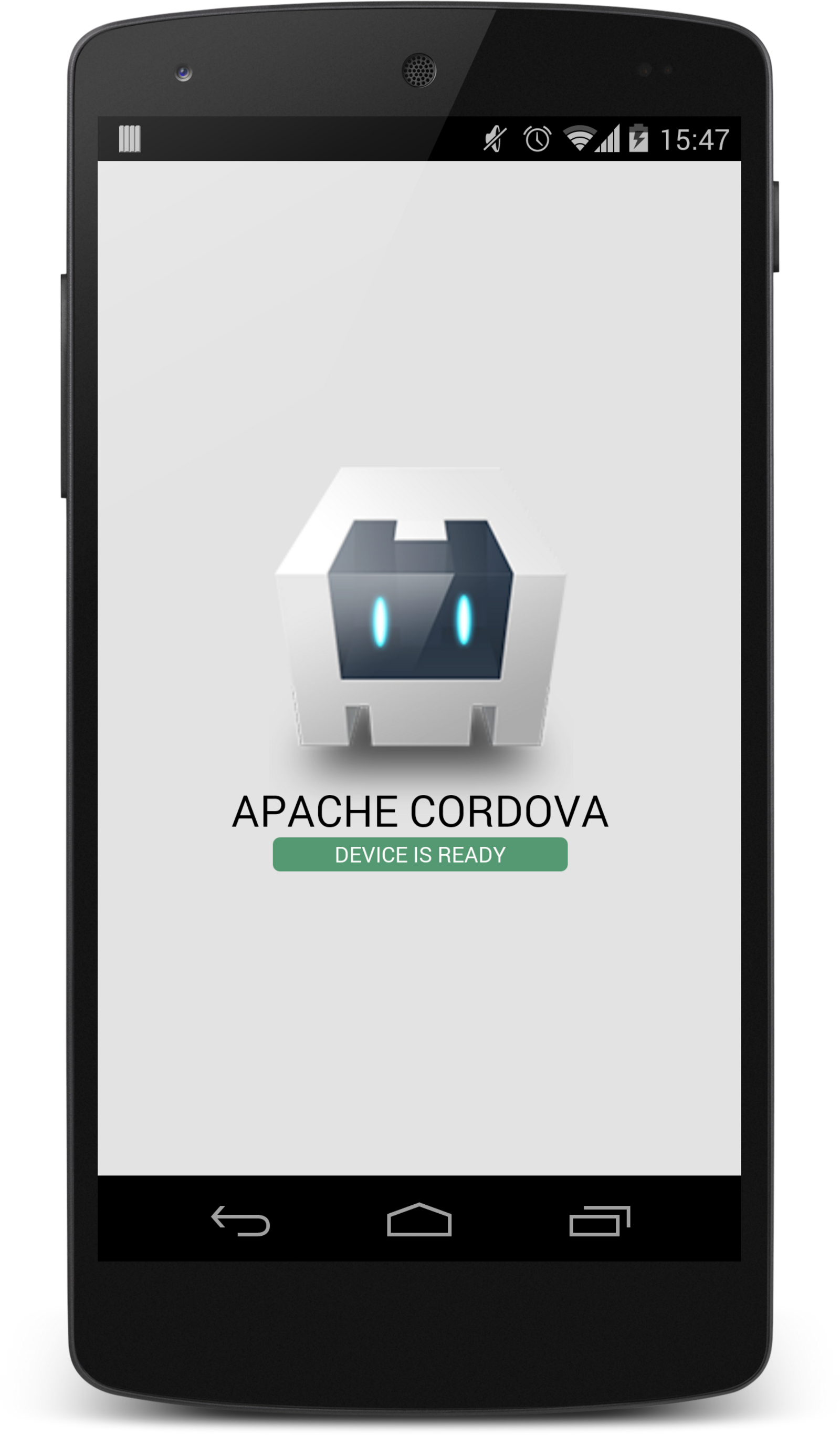 Cordova App on a Nexus 5