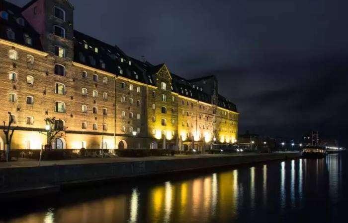 Copenhagen Admiral Hotel facade og vand