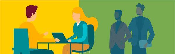 L'entretien utilisateur peut avoir lieu dans une salle spéciale où les UX researchers et les concepteurs UX peuvent regarder cachés derrière une vitre sans tain.
