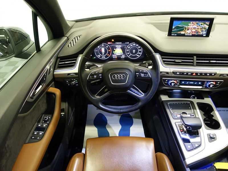 Audi Q7 3.0 TDI e-tron 374pk Quattro [S-Line] Aut- Leer, Virtual Cockpit, 360 Camera, Xenon afbeelding 4