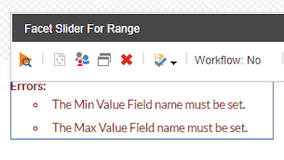slider validation