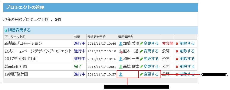 削除されたユーザーが空欄で表示された画像
