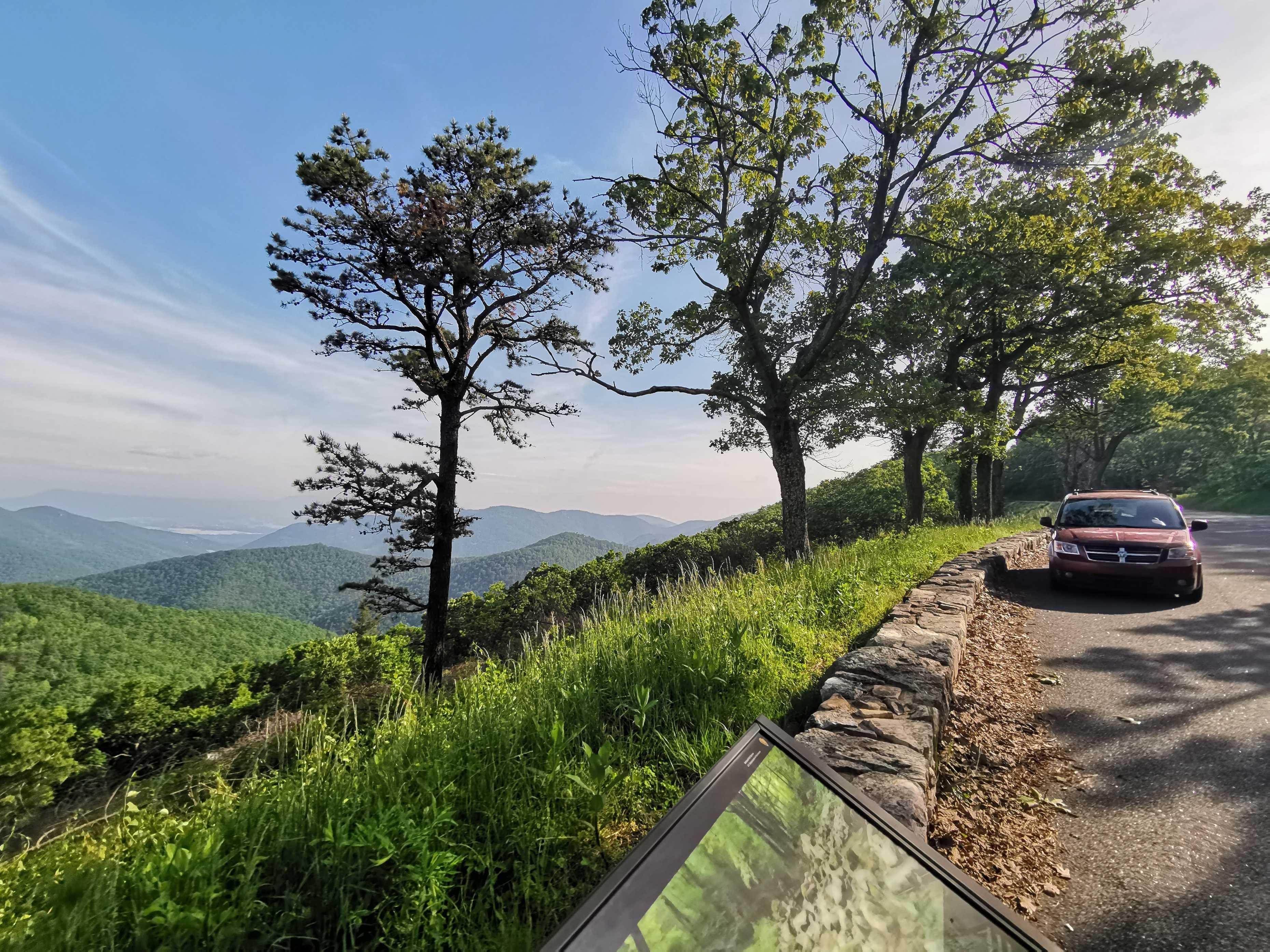 La Skyline drive du parc national de Shenandoah cover image