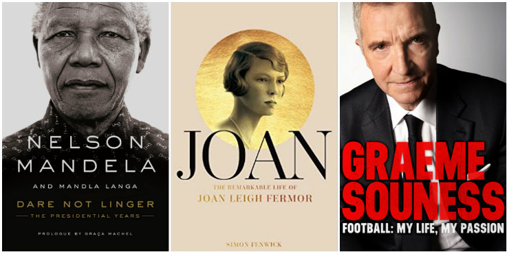 Dare Not Linger, Joan: the remarkable life of Joan Leigh Fermor, Football: my life, my passion