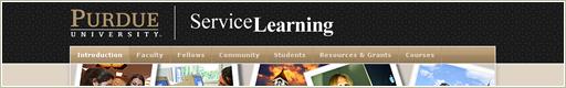 Purdue University Service Learning Website