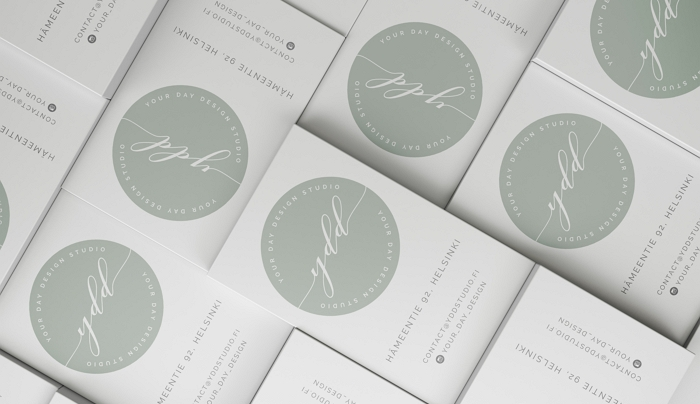 wedding styling company rebranding logo & business card item thumbnail