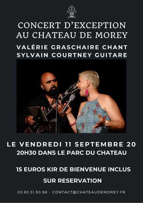Concert Jazz d'exception au Château de Morey (proche Nancy et Metz)