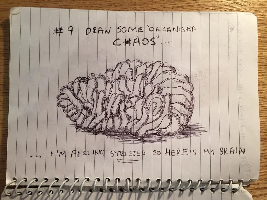EDM #9 Draw some organised chaos