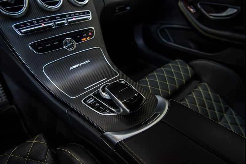 Mercedes-Benz C-Klasse Coupé 63 S AMG Edition 1 Yellow   Keramiek   HUD afbeelding 19