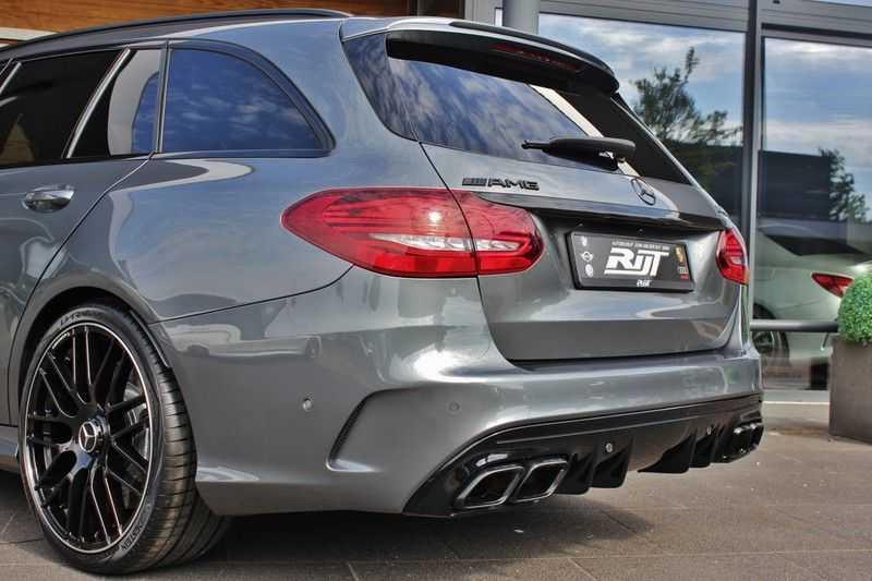 Mercedes-Benz C-Klasse C63 AMG 4.0 V8 Estate 476pk! **360°Camera/Burmester/Spoorassistent** afbeelding 8