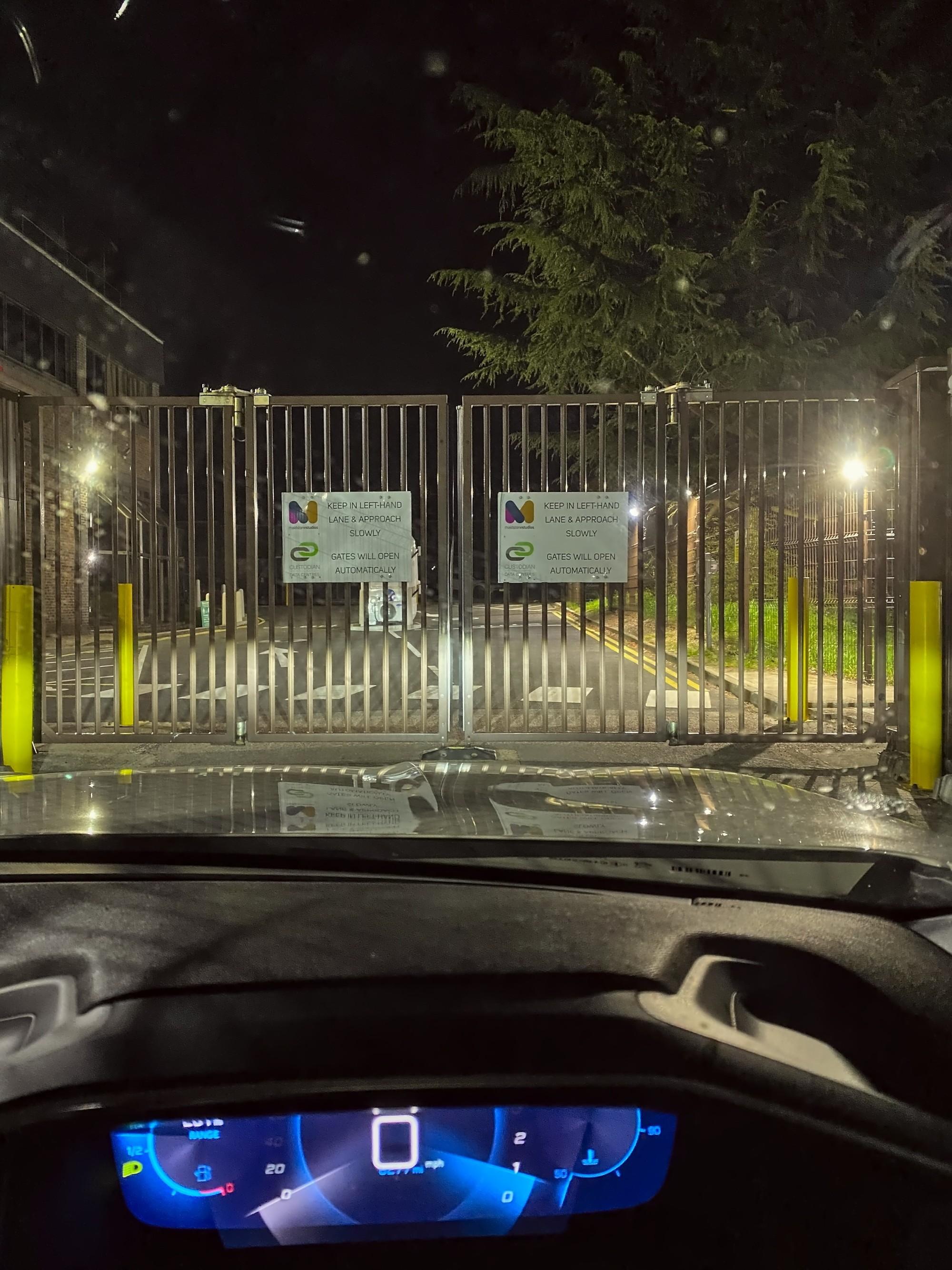 arriving at the CustodianDC data center