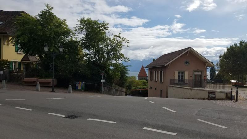 Quaint little town along our route