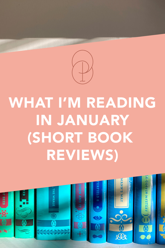 what i'm reading in january (short book reviews)