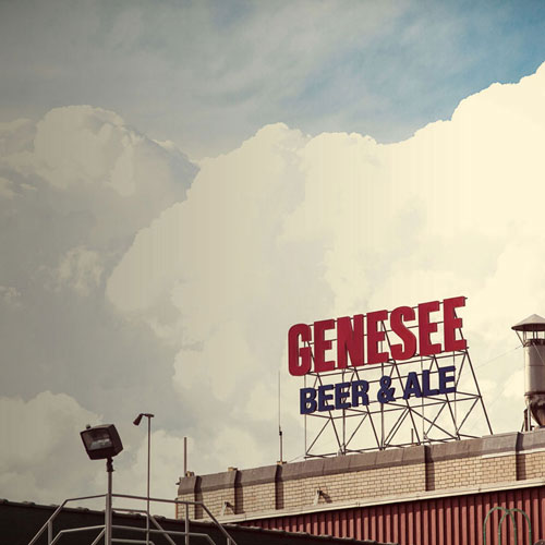 Genesee Brewery Sign