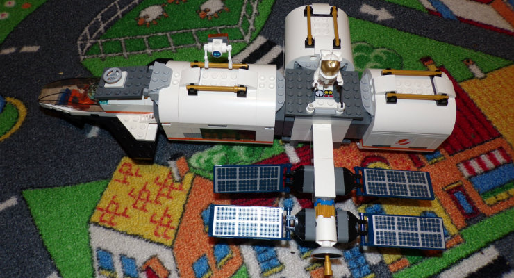 The finished space station