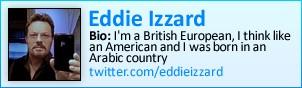 Eddie Izzard on Twitter