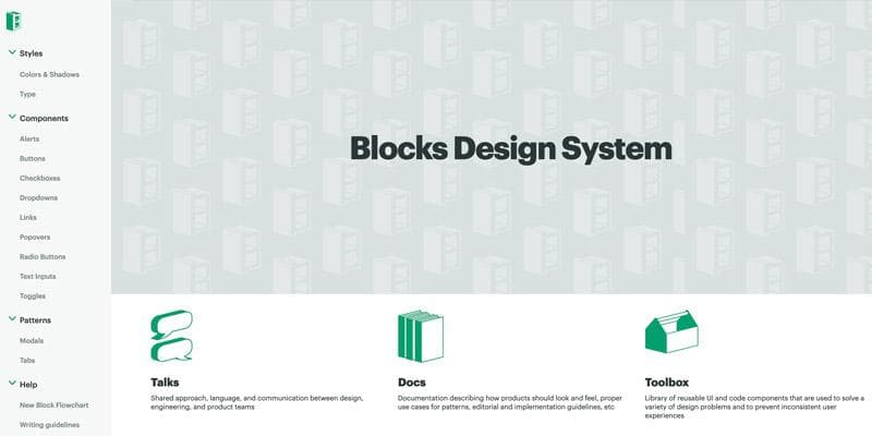Blocks Design System