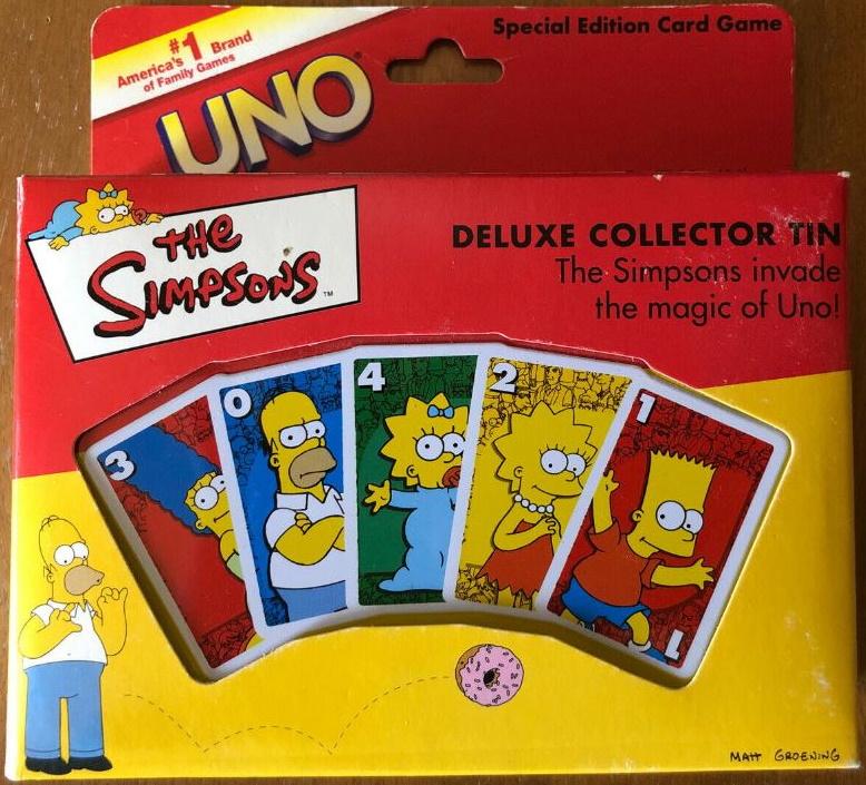 Simpsons Uno (2001)