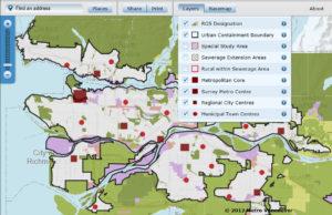 Land Use Designation Map