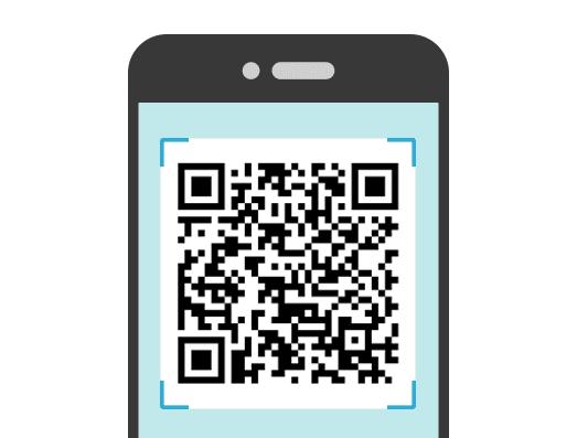 On demand met QR-codes