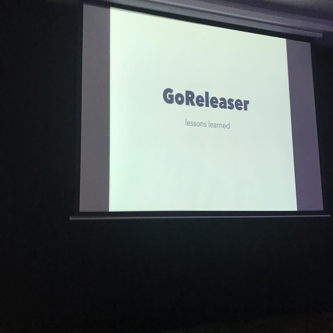 first slide of my presentation