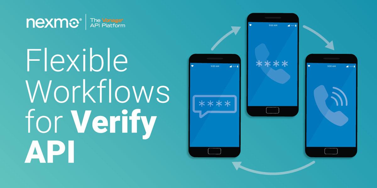 Flexible Workflows for Verify API