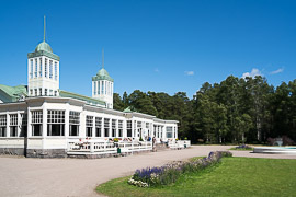 Apparently this is a historic spa destination.  Hanko, Finland, 2017