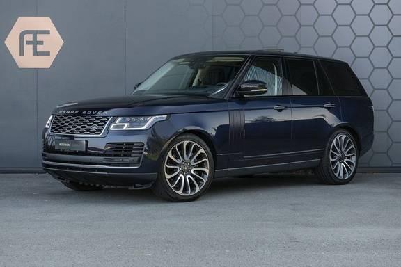 Land Rover Range Rover 5.0 V8 SC Autobiography Portofino Blue + Verwarmde, Gekoelde voorstoelen met Massage Functie + Adaptive Cruise Control + Head Up