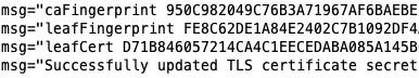 Change: More logging around Consul certificate rotation