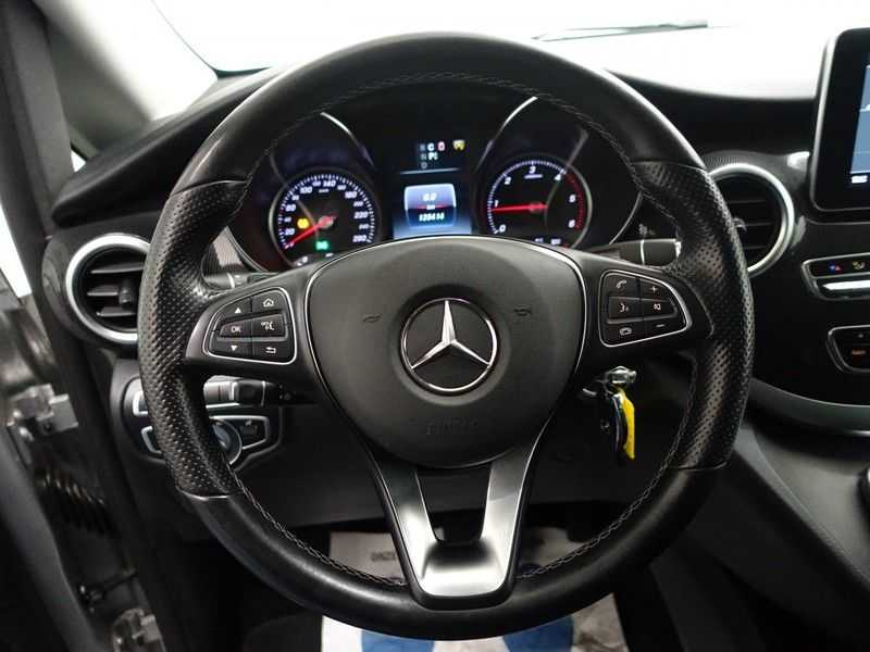 Mercedes-Benz V-Klasse 220 CDI Lang Dubbel Cabine 5/6 Pers Amg Style Autom- Navi, Camera, Xenon afbeelding 11