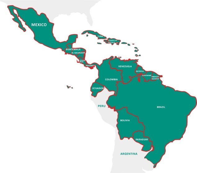 Reproductive Rights and Access to Safe Abortion in times of Zika map