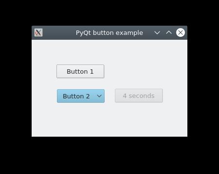 python pyqt5 buttons
