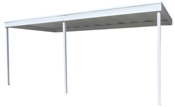 Attached Steel Carport