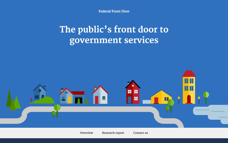 Federal Front Door