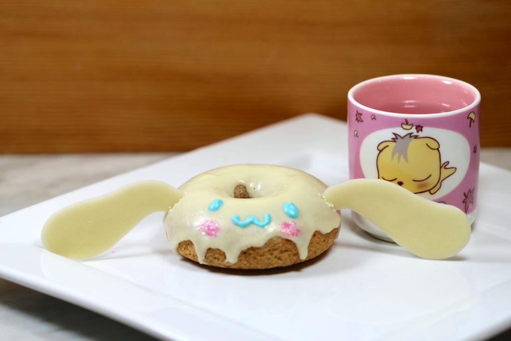 Vegan Sanrio Cinnamoroll donut